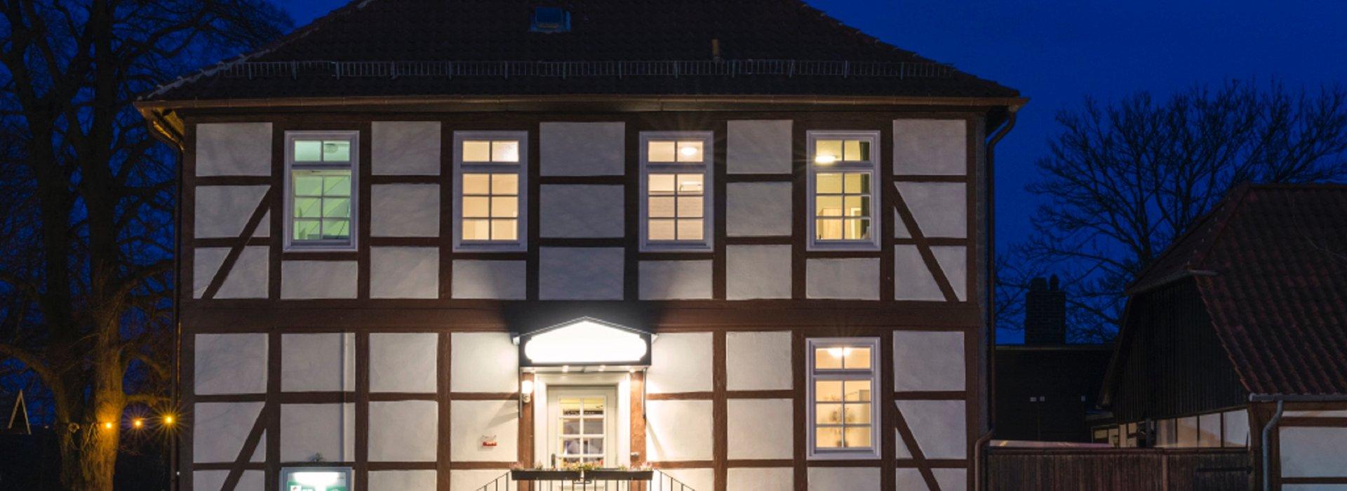 Der Klosterkrug am Abend