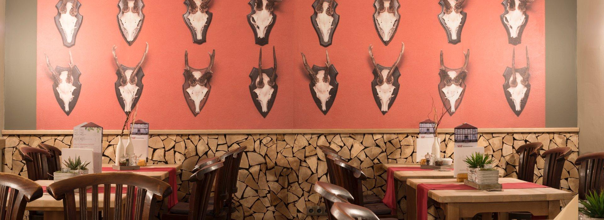 Die Inneneinrichtung des Woeltingerode Restaurants