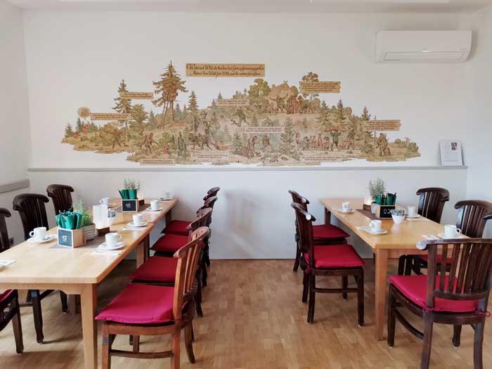 Jägerzimmer des Woeltingerode Restaurants